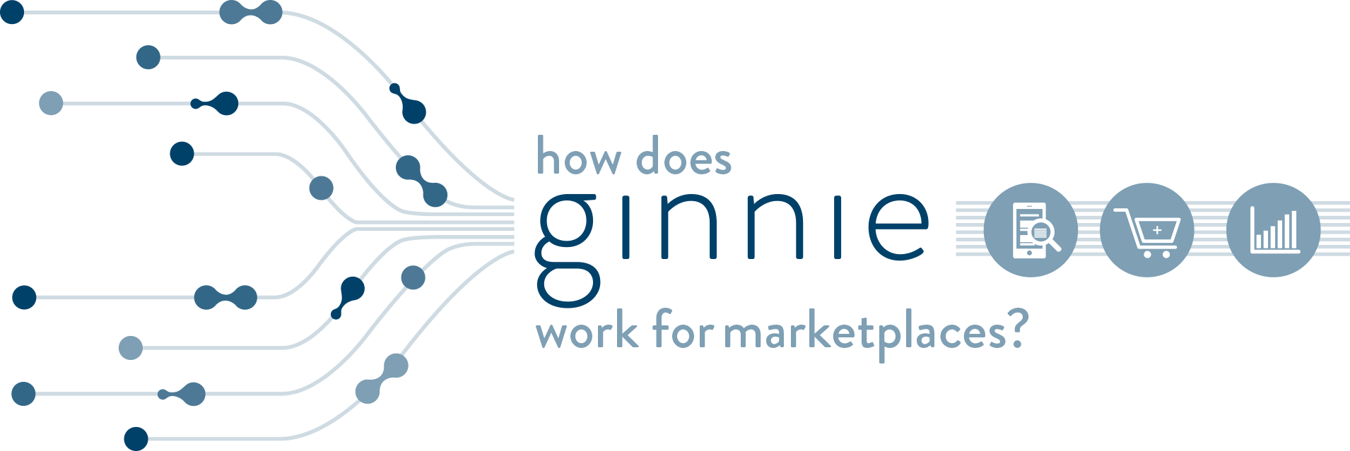 infographic outlining how ginnie works for marketplaces