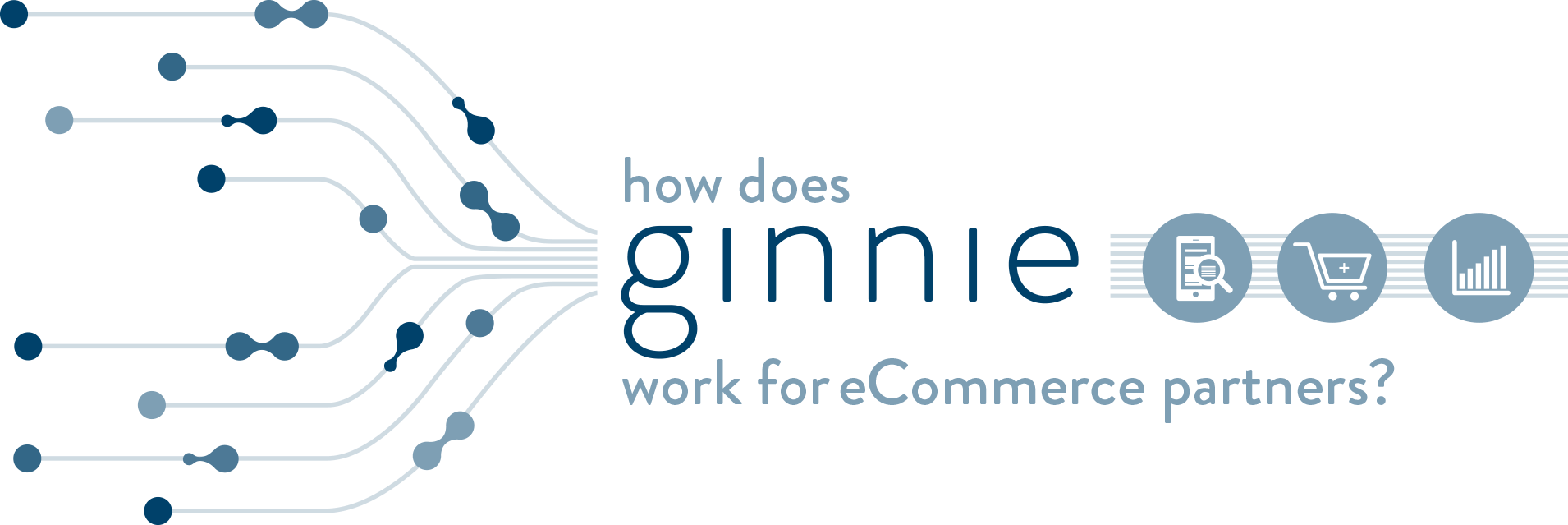 infographic outlining how ginnie works for partners